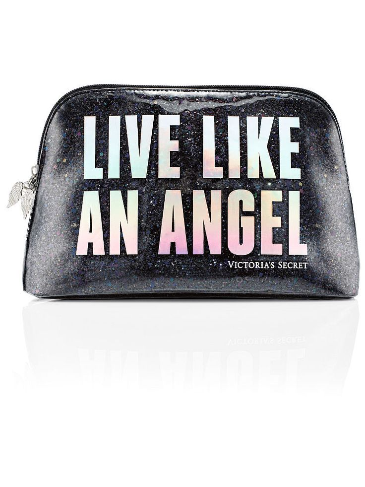 Get a piece of this year's #VSFashionShow before the Angels make their entrance! | Victoria's Secret Fashion Show Cosmetic Bag