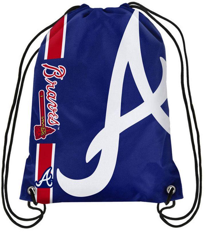 Forever Collectibles Atlanta Braves Big Logo Drawstring Bag