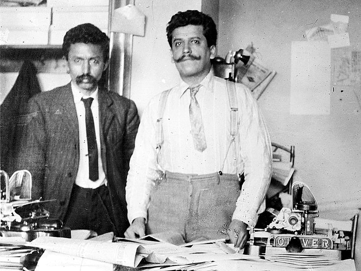 Librado Rivera y Enrique Flores Magón -Revolución Mexicana