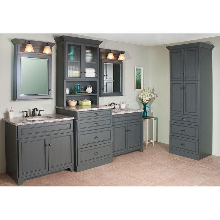 Inspirational Bathroom Vanity Linen Cabinet Sets
