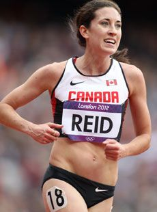 Sheila Reid, Canada- 2012 London Games- Track and Field 5,000m