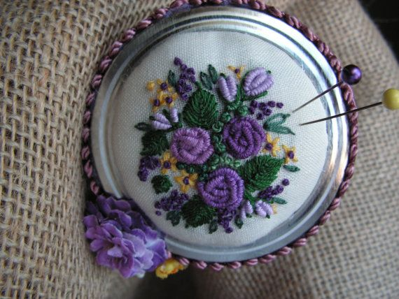 pincushion by Mydaisy2000 on Etsy, $22.00
