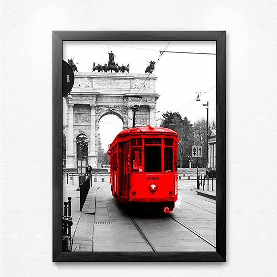 City Scenery Canvas Print Photograph printed on by Overseamall, $9.90