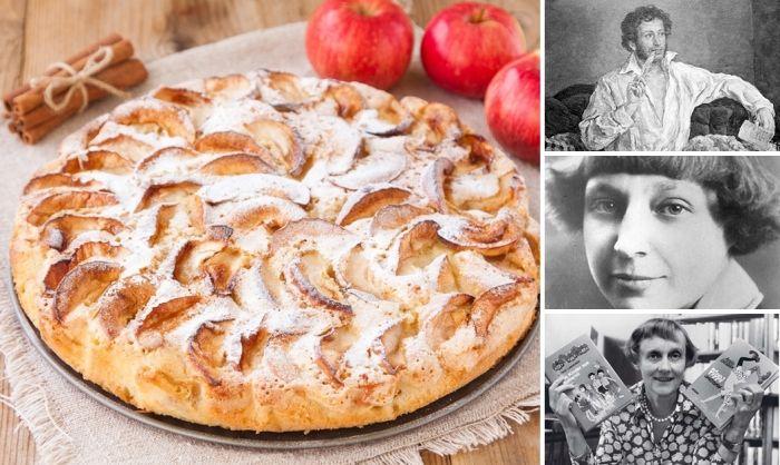 БЛОГ ПОЛЕЗНОСТЕЙ: Яблочный пирог - любимый десерт литераторов: три оригинальных рецепта