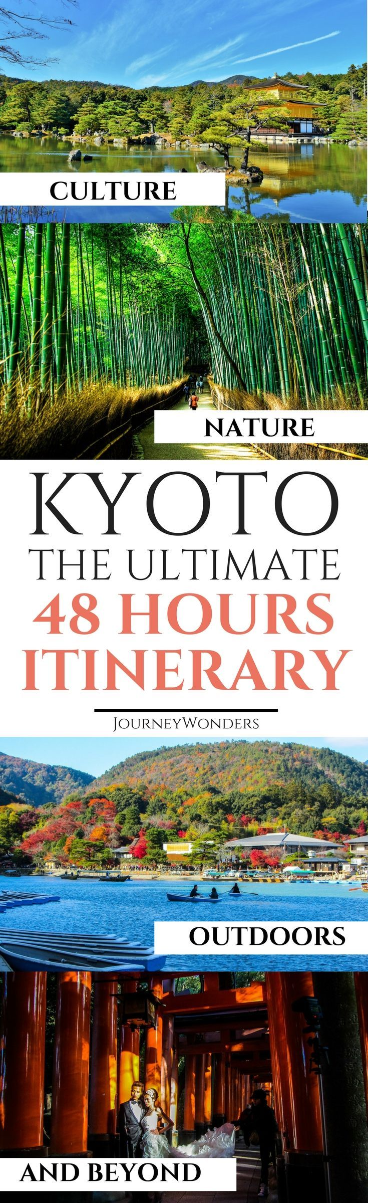 48 Hours in Kyoto is the ideal time to explore the highlights of this wonderful city. Check out this Ultimate Itinerary of Wonders about the best things to do and see in 48 Hours in #Kyoto #Japan #Itinerary #Travel #Asia