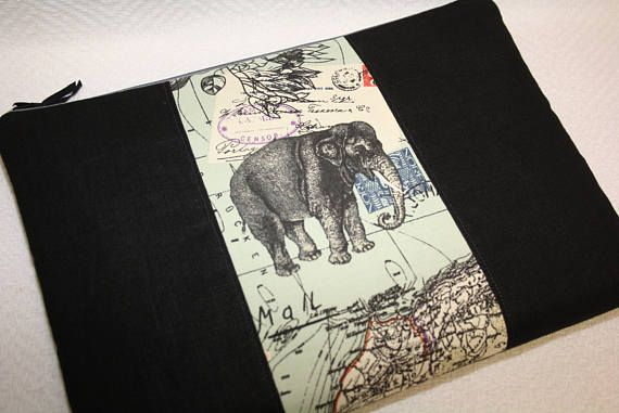 Zwart linnen sleep voor Mac Book PRO 13inch-Mac Book 13
