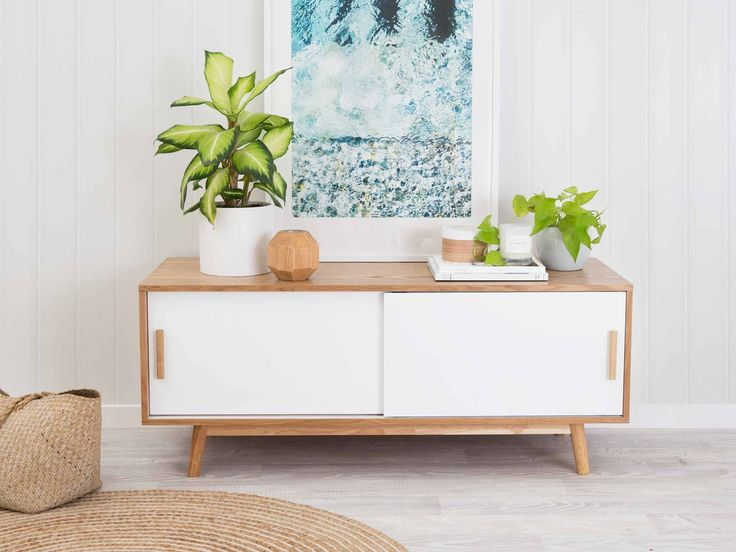 Daisy Low Sideboard for TV - White $200 from Mocka