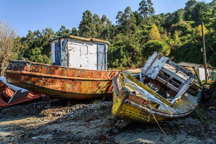 old ships  #abandoned #old #decay
