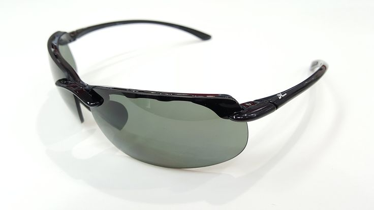HOBIE Eyewear Sunglasses RIVERA Lightweight Rimless Sport Wrapped 69/12 135mm grey Polarized Lenses. HOBIE EYEWEAR SUNGLASSES RIVERA. Black wrapped sunglasses with grey Polarized Lenses for reducing harsh glare off surfaces and making it more comfortable visually!. Great for sports, motorcycles,fisherman, and more. Brand new in box with Warranty card and storage/cleaning sock. Shipped directly from Lobo Marine Products and packaged right so you get your package promptly and efficiently.