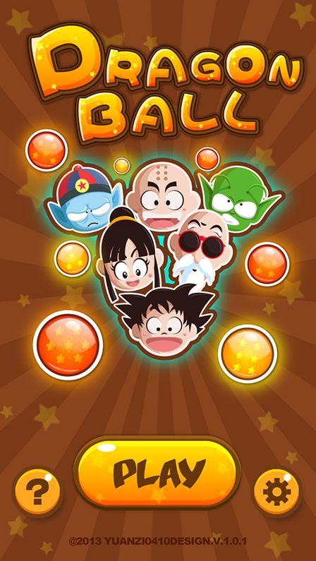 Dragon Ball~·game UI` on Behance