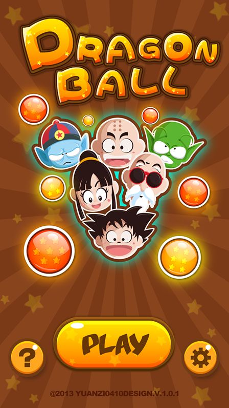 Dragon Ball~·game UI` on Behance