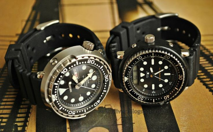 Seiko Divers watches. Preferred with Automatic Movement. SECOND CHOICE: First Would be Marathon SAR Automatic.