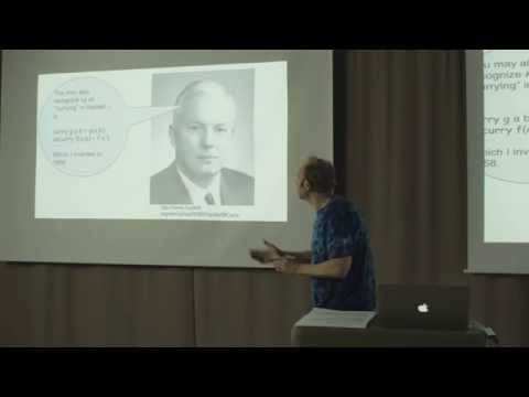 Category Theory, The essence of interface-based design - Erik Meijer - YouTube