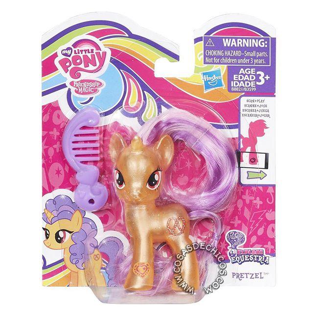 #Figura #MyLittlePony #Explore #Equestria #Pretzel -   #Original #Hasbro.    Imperdible colección, con cuerpo perlado y glitter!  Cada figura incluye un peine.  Medida: 8 cm.  Presentación: Blister cerrado.    Recomendado a partir de los 3 años.    #CosasDeChicos #My #Little #Pony #MiPequeñoPony