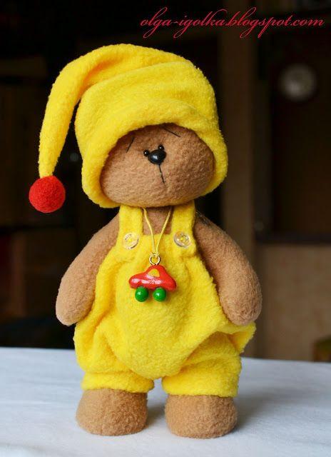 Иголкин уголок / The Needle Nook: Мишутка/ The Teddy Bear