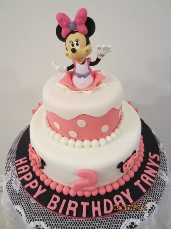minnie mouse cake creative cakes birthday party ideas birthday cakes ...