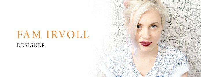 Interview with norwegian designer Fam Irvoll