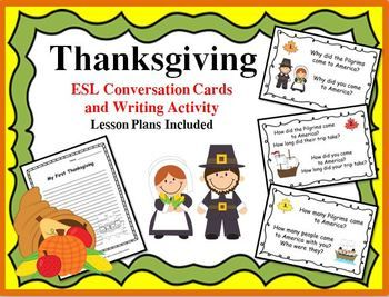 Thanksgiving - ESL Lesson Activities, Quizzes and Games