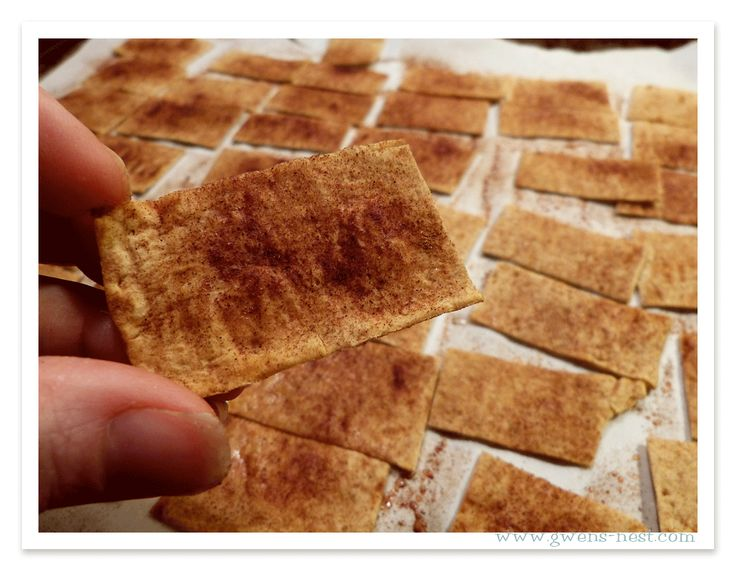Low Carb Cinnamon Dippers [Trim Healthy Tuesday] - Gwens Nest