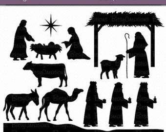 nativity_silhouette – Etsy