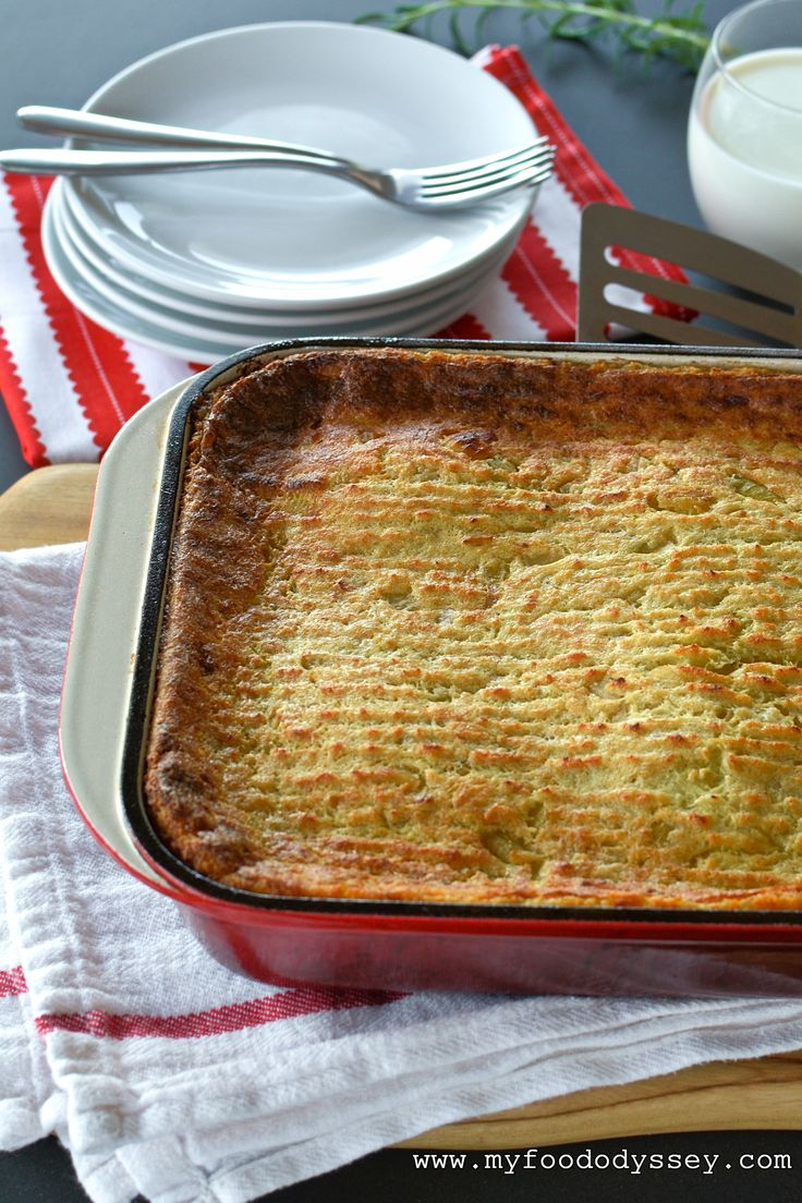 Lithuanian Kugelis or Potato Pudding is a delicious and ...