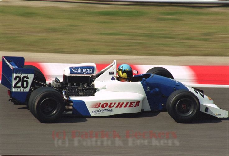 Philippe Gache - Lola T89/50 Cosworth DFV / Mader - Galaxy Racing - Spa-Francorchamps - 1991 FIA Formula 3000 International Champiosnhip, round 8 - © Patrick Beckers
