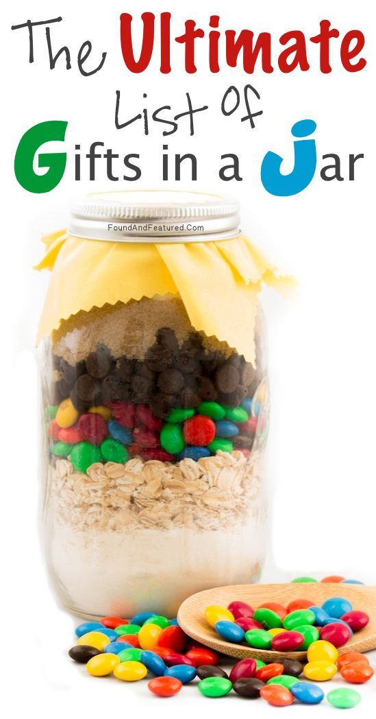 These make for awesome personalized gifts! Love the jar gifts, especially when you're stuck for a last-minute or inexpensive gift that you still want to look nice! :)