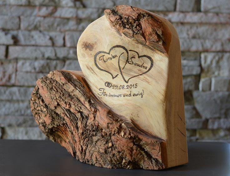 Ewige Liebe, Holzdeko, Geschenk, Accessoire | HOLZLIEBE-ISERLOHN | WOHNACCESSOIRES AUS HOLZ | MADE IN GERMANY (Woodworking Ideas)