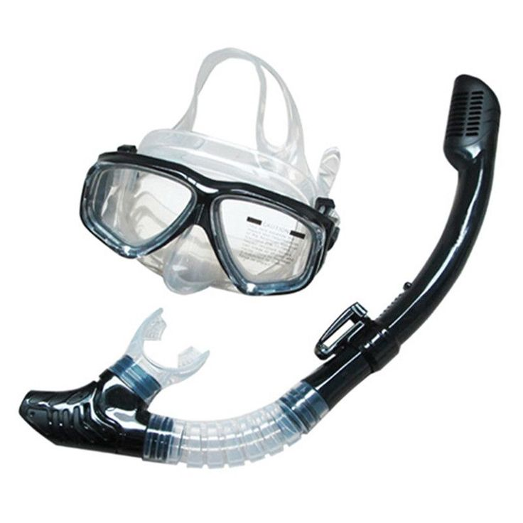 SBART Professional Silone ear Scuba Diving Mask Equipment Full-dry Snorkel Anti-Fog Swimming Snorkeling Diving lasses oggle