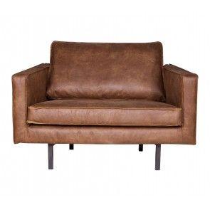 Rodeo fauteuil 1,5-zits love-seat Cognac | Musthaves verzendt gratis