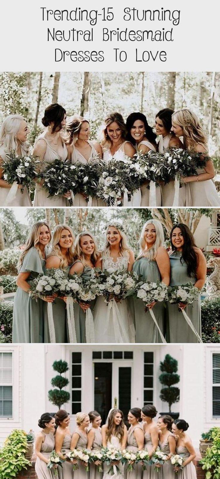 neutral champagne bridesmaid dresses #obde #weddingideas2019 #BridesmaidDressesSummer #DavidsBridalBridesmaidDresses #GreyBridesmaidDresses #BridesmaidDressesFall #BridesmaidDressesWithSleeves