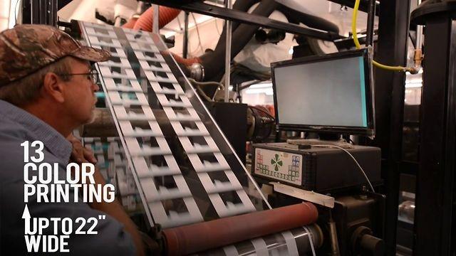 Flexo Printing & Shrink Sleeves on Vimeo