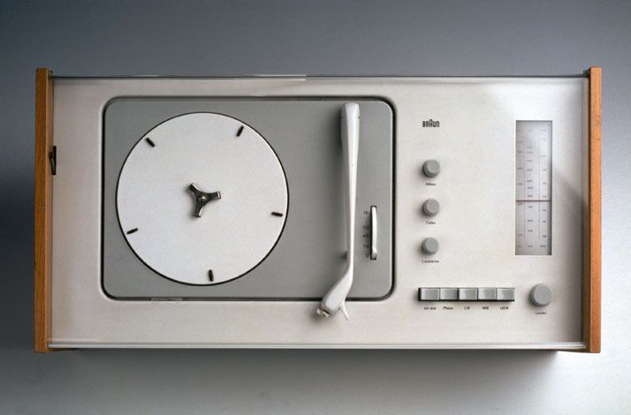 """Good design is as little design as possible"" — Dieter Rams / Braun SK 4 (1956)"
