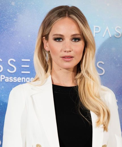 Jennifer Lawrence ditched the bob for a longer look.