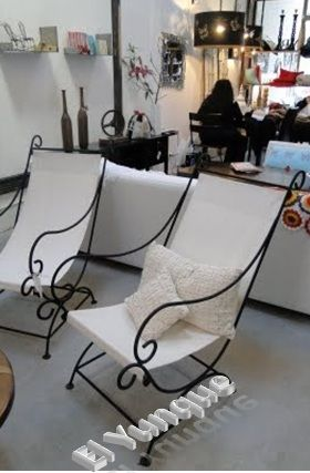 Barber Chair, Wrought Iron, Iron Furniture, Outdoor Chairs, Simple  Elegance, Blacksmithing, There Are, Terrace, Patio