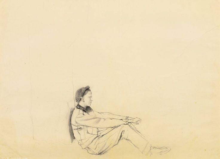 Allen (Oodie) Lynch de Andrew Wyeth (1917-2009, United States)