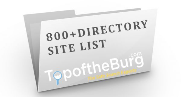 Ultimate Directory List  [Free List + 800 directories]