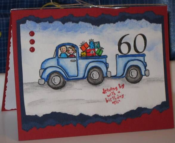 MH - Gerry's 60th Birthday by Mitch47 - Cards and Paper Crafts at Splitcoaststampers