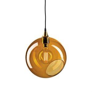 Design By Us - Ballroom XL pendel i rosa/messing (Ø 33 cm)