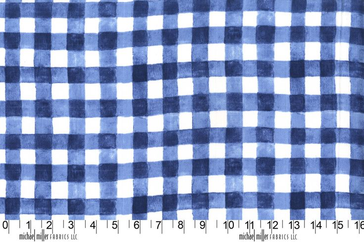 Mini Printed Gingham MMDZ7062NAVY http://www.eqsuk.com/products/fabrics/designer-fabrics/b/michael-miller/michael-miller-double-gauze/7636 www.eqsuk.com/stockist #MMF #EQS
