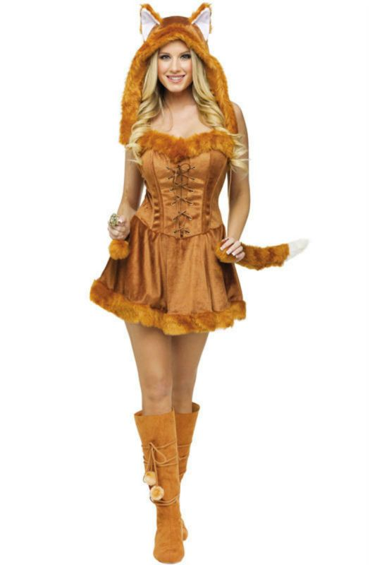 Popular Adult Fox Costumes-Buy Cheap Adult Fox Costumes lots from ...