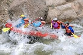 Go river rafting