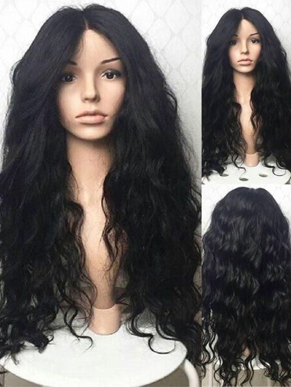 Long Middle Part Wavy Party Synthetic Wig in 2019  14b847d511