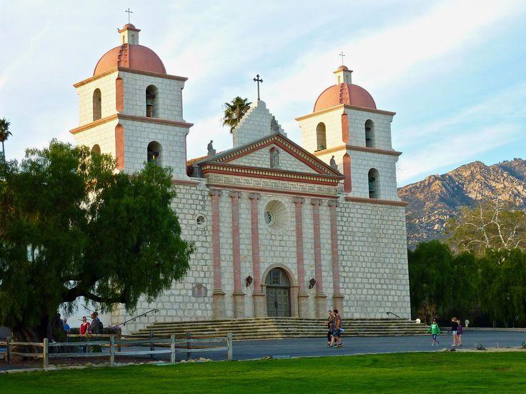 Santa Barbara Mission taken by Harold Hinkubah