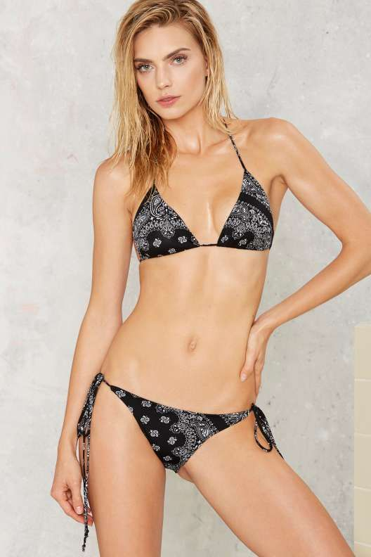 The bikini using four bandanas opinion you