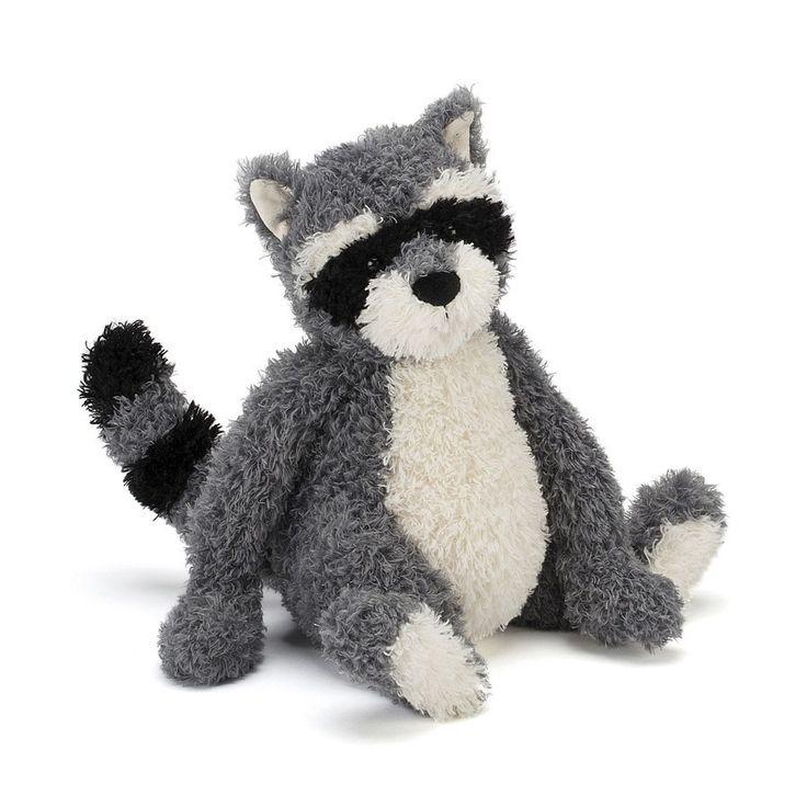 Rafferty Raccoon Jellycat Obsession Pinterest