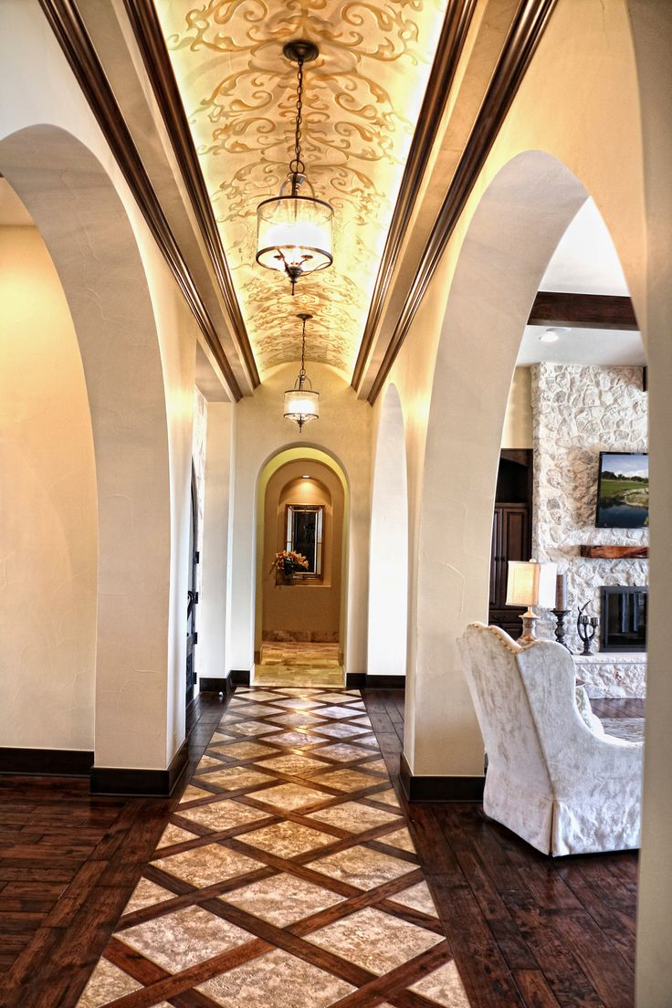 23 best classic mediterranean homes images on pinterest interior lake travis waterfront mediterranean entry hall by zbranek holt custom homes lake travis luxury custom home