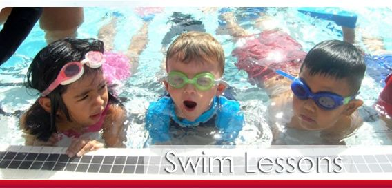Annual Swim Lessons Schedule and Fees, Rose Bowl Aquatics Center, Pasadena, CA