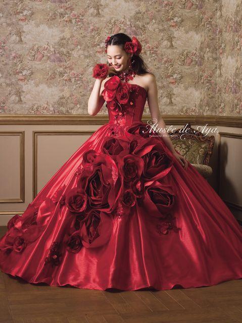 ララシャンス迎賓館 大分 結婚式場写真「カラードレス」 【みんなのウェディング】