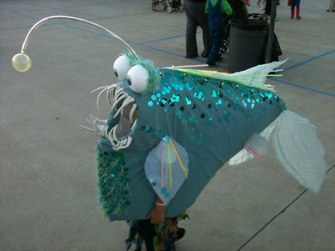 25 best ideas about fish costume on pinterest siren for Angler fish costume